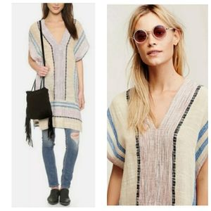 Free People So Easy Striped Pullover Medium